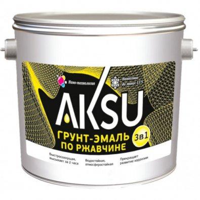грунт-эмаль по ржавчине AKSU М2
