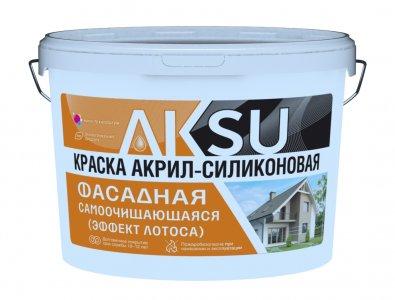 краска акрил-силиконовая Аксу