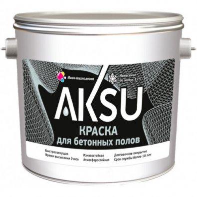 Краска для бетонных полов AKSU