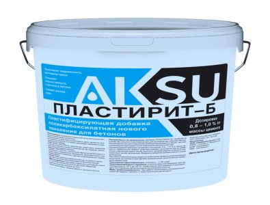 Пластифицирующая добавка ПЛАСТИРИТ-Б